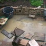 soggy patio
