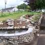 Remodelled back garden