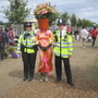 Hampton Court Flower Show-no this was not me!