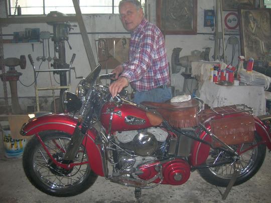 Harley-Davidson Model 1943 WLA -