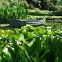 Lake at Beth Chatto's garden
