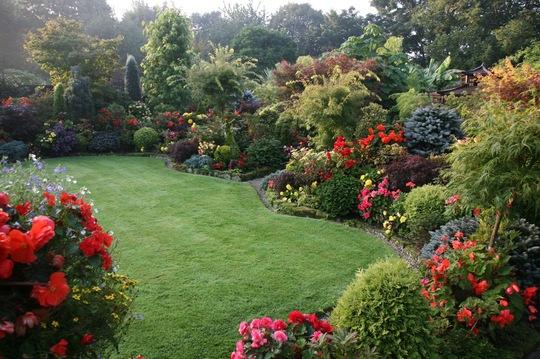 Upper garden 21 September