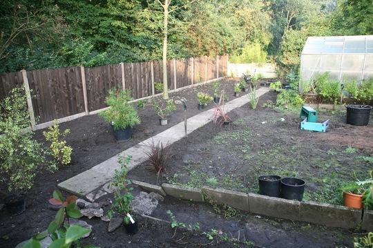 next door's garden