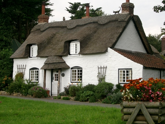 Appleby village thatched cottage