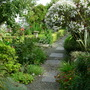 Along the garden path......
