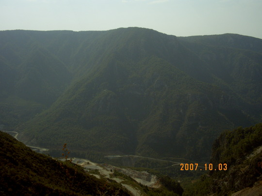 Alanya mountains