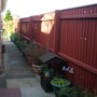 FINISHED PAINTING FENCE