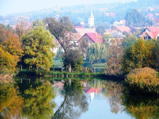 Misty October morning in Hungary no 17