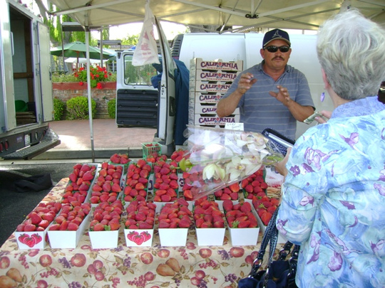 Solvang strawberries