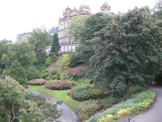 Autumnal Gardens Edinburgh