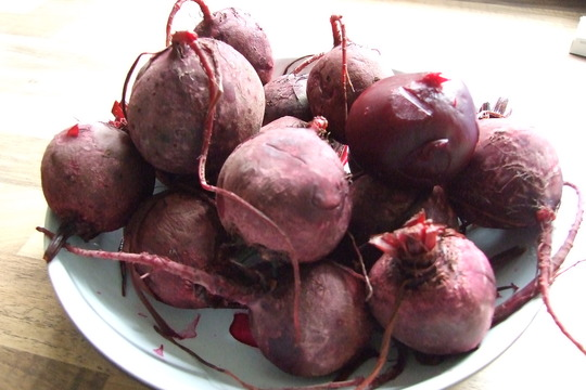 Dish of delinquent beetroot