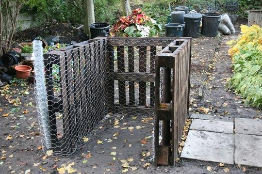 one compost bin