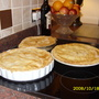 Apple and Blackberry Pies
