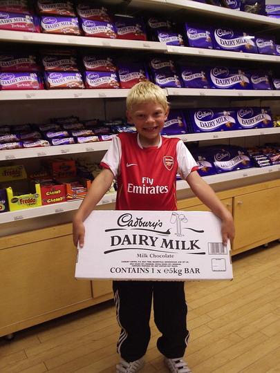 James and the Giant Chocolate Bar