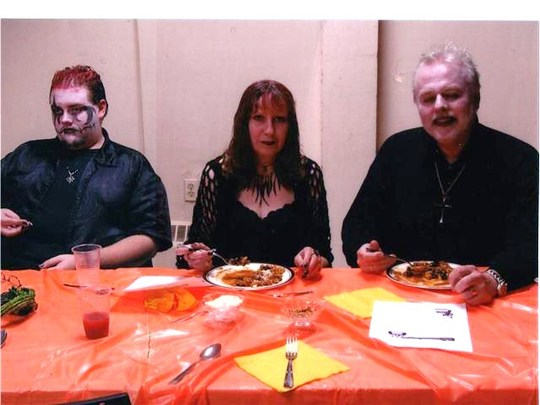 Halloween party at the church. (For Arlene!)