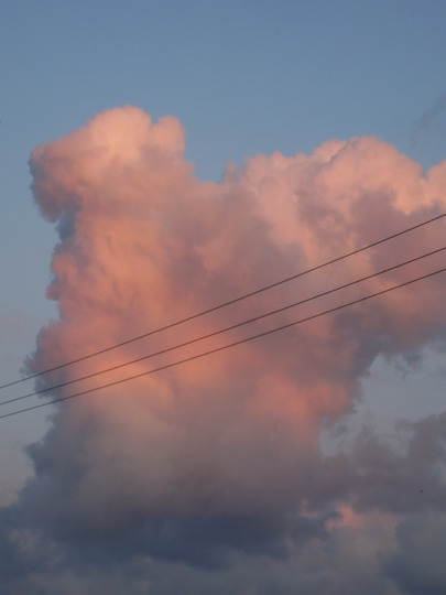 sky , just before it got stormy this afternoon