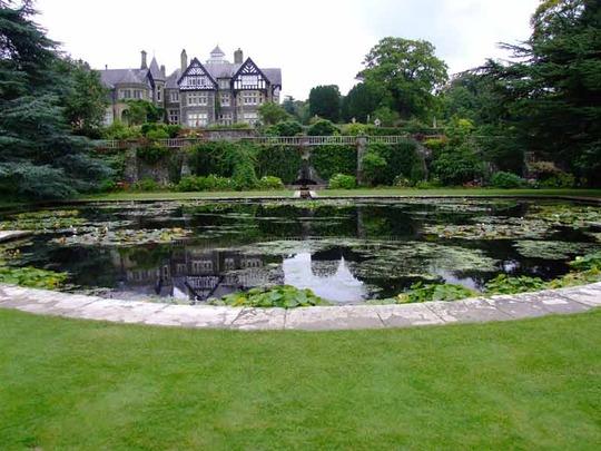 The Lily Terrace, Bodnant Garden, N. Wales