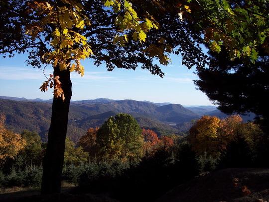 Appalachian Mountains  in North Carolina