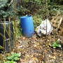 Compost bins willow fedge
