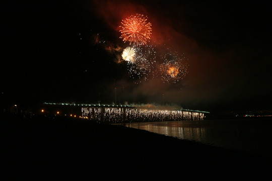 Fireworks last year
