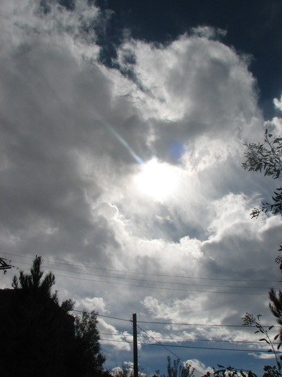 Welsh clouds over Arizona?