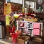 Coffee/mud area...