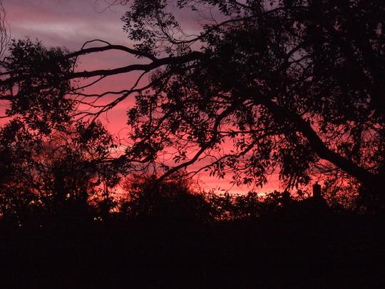 Sunset at 4.45 p.m.