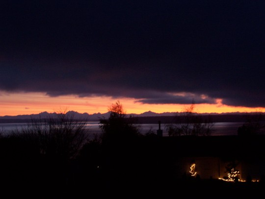 Sunrise over Mt.