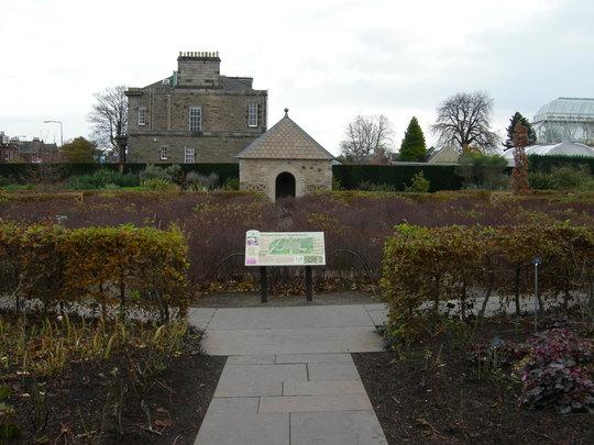 The Memorial Garden to HM, the Queen Mother, in the Royal Botanic Garden, Edinburgh.