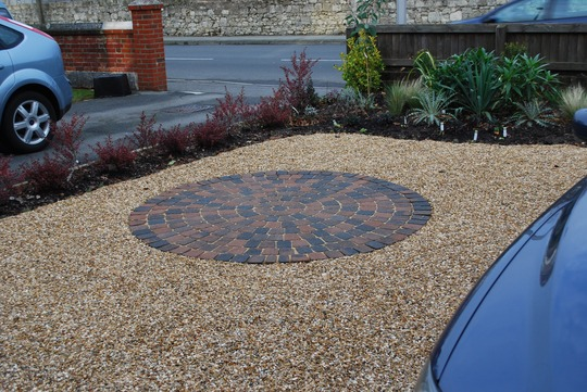 Jua front garden ideas gravel for Small gravel garden designs