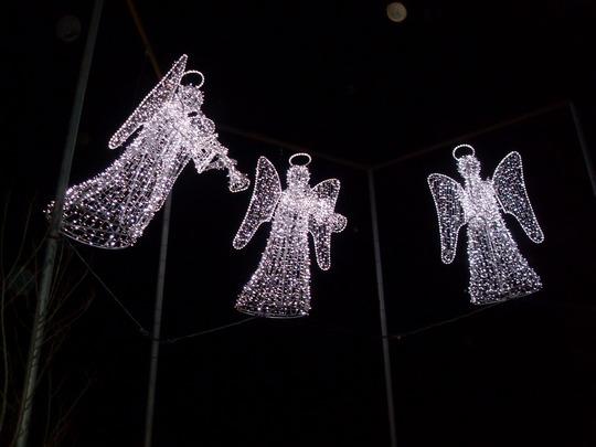 christmas  lights Paisley Scotland