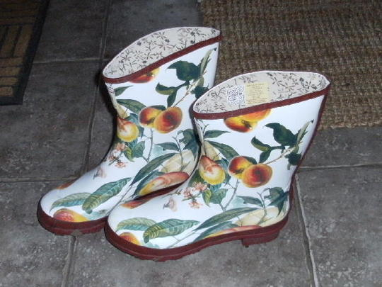 New gardening wellies