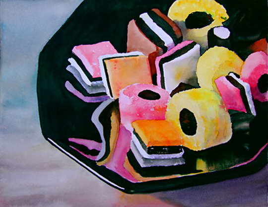 Allsorts (watercolour)