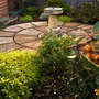 Front Garden with Sundial