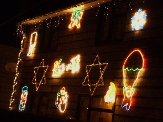 My Neighbours Pretty Christmas Lights