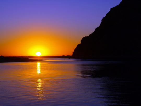 Sunset- Morro Rock