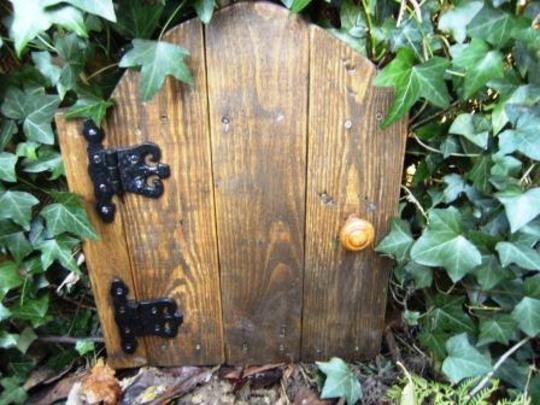 Large pixie door