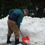 Bruce, guess what, shovelling