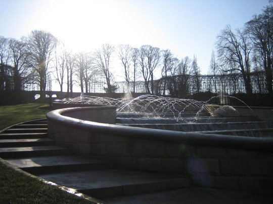 The Grand Cascade water feature