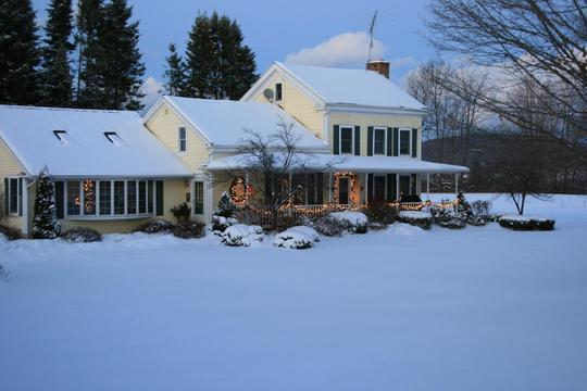 Christmas In The Country ~ Upstate New York