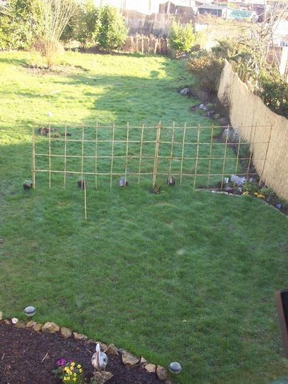 Right Hand Veiw Of My Garden In Feb 2008