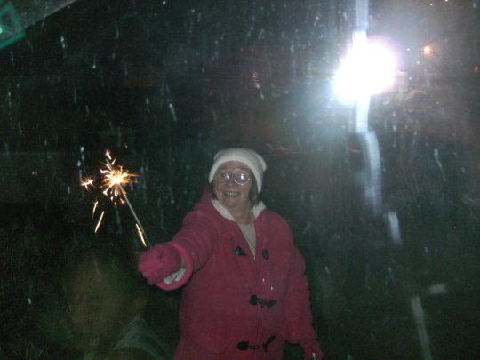Grandma Sparkle.