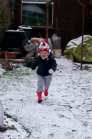Not quite enough for a snow man.... (Spondeekee Madam)