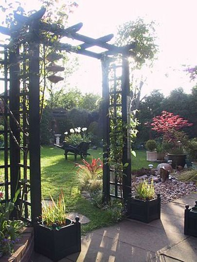 Garden views ~ through the arch !