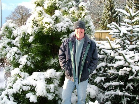 Winter snow at Foxhollow