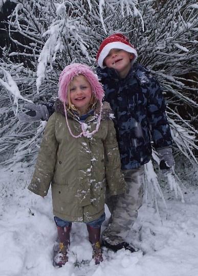 Real snow Oompa Loompas!