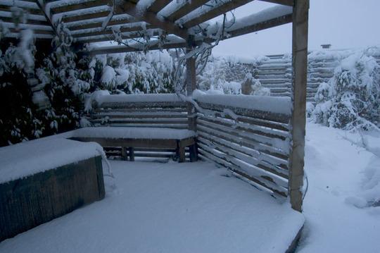 Gazebo snowbound