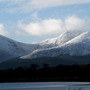 Mourne Mountains snowtops
