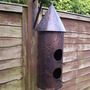 Ornamental Birdhouse/Feeder