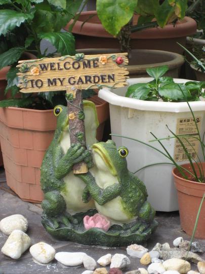 Ornamental frogs